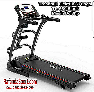 Treadmill Elektrik TL-630 Mesin 2Hp auto incline